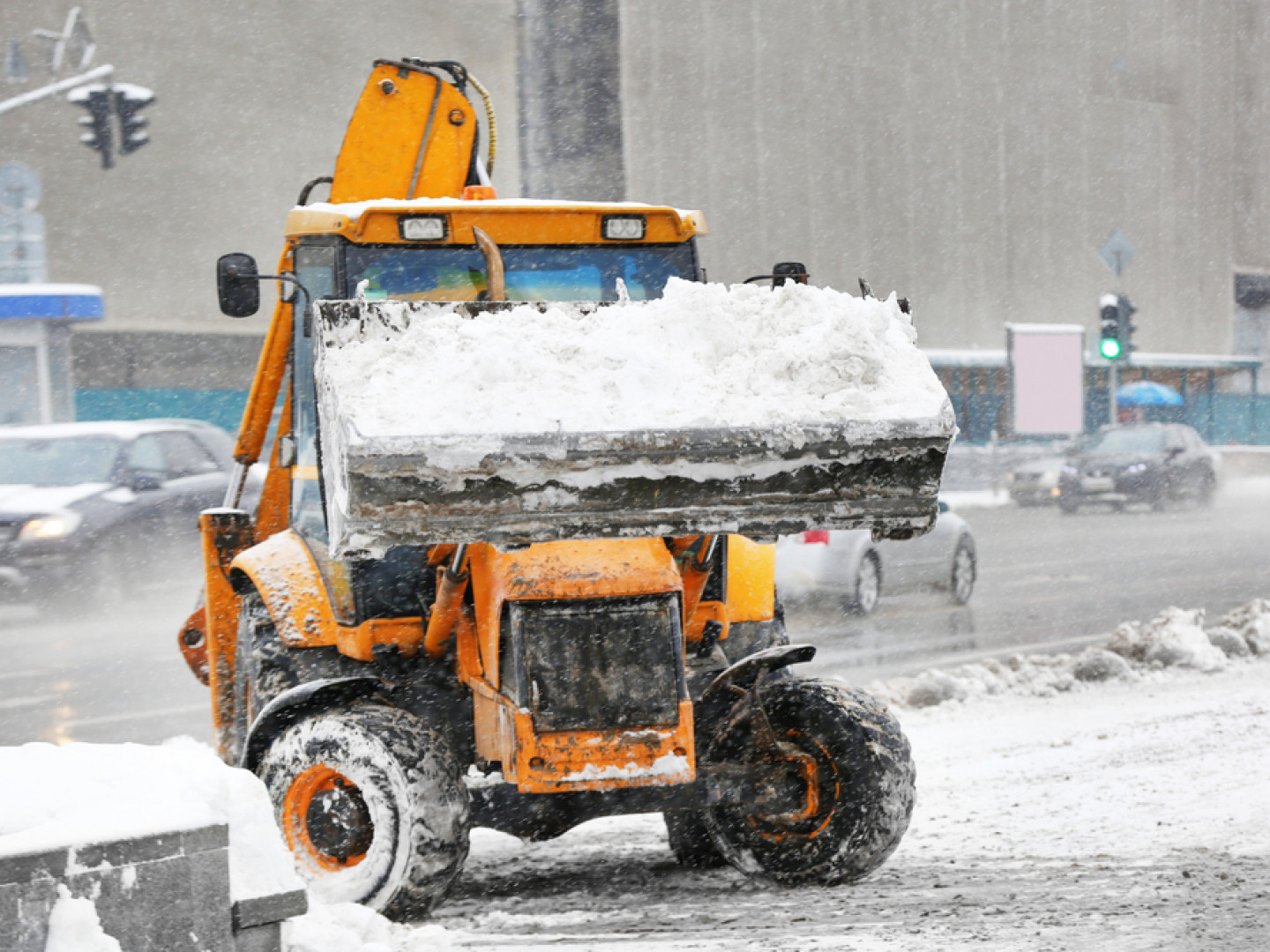 We'll remove snow from your property safely and efficiently